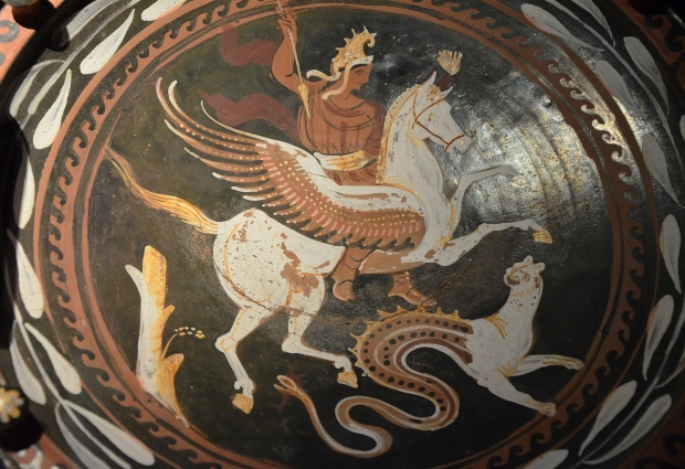 Bellerophon's assault on the heavens.